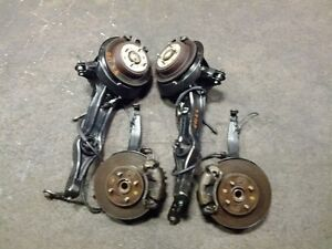 JDM HONDA CIVIC EG6 CRX 4X100 DISC BRAKE CALIPERS CONVERSION