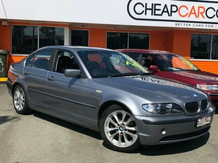 2003 BMW 325i E46 MY2003 Steptronic Grey 5 Speed Sports Automatic Sedan Greenslopes Brisbane South West Preview