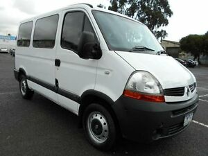2008 Renault Master Mid Roof MWB White Automatic Van Maidstone Maribyrnong Area Preview