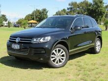 2013 Volkswagen Touareg 7P MY13 150 TDI Black 8 Speed Automatic Wagon Hillman Rockingham Area Preview