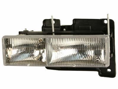 Left Headlight Assembly For 1990-1999 Chevy K1500 1998 1994 1993 1995 C359JC