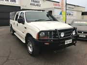 2003 Ford F250 RN XLT White Automatic Utility Port Adelaide Port Adelaide Area Preview