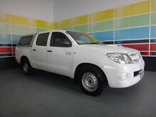2007 Toyota Hilux KUN16R 07 Upgrade SR White 5 Speed Manual Wangara Wanneroo Area Preview