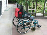 Invacare Deluxe Tall Model Wheelchair For Sale