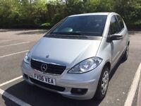 2006Mercedes A Class *SAT NAVIGATION*Only 74,150 miles Full SerHistory MOT Aug17 No Advsry,Bluetooth