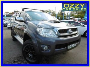 2010 Toyota Hilux KUN26R 09 Upgrade SR5 (4x4) Grey 5 Speed Manual Dual Cab Pick-up Penrith Penrith Area Preview