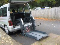 2003 CITROEN BERLINGO DIESEL FSH DISABLED TRANSPORT WITH CHAIR LIFT PART X