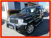 2008 Jeep Cherokee KK MY08 Limited Black 4 Speed Automatic Wagon North Parramatta Parramatta Area Preview