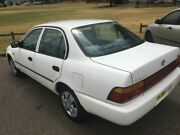1996 Toyota Corolla AE102R Conquest White 4 Speed Automatic Sedan Lidcombe Auburn Area Preview