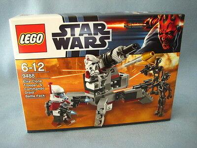 Lego Star Wars 9488 Elite Clone Trooper  Commando Droid Battle Pack neu + ovp ()
