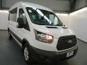 2016 Ford Transit VO MY16 410L LWB 12 Seat Frozen White 6 Speed Manual Bus Albion Brimbank Area Preview