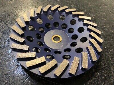 Sase 7 24 Seg Turbo Diamond Cupwheel Non-threaded 58-11