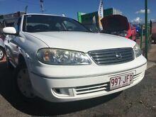 2004 Nissan Pulsar N16 MY04 ST White 4 Speed Automatic Sedan Moorooka Brisbane South West Preview