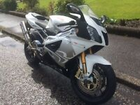 Aprilia rsv1000r, 2010, 13,500 miles, two owners, good condition, Ohlins, Akrapovic cans, alarm