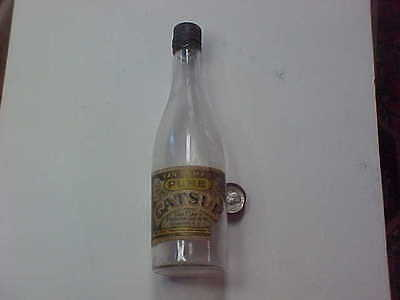 Antique catsup bottle, (Van Camp's), Van Camp Packing Co., Indianapolis Ind. pap