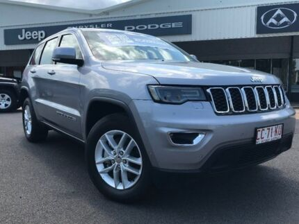 2017 Jeep Grand Cherokee WK MY17 Laredo Silver 8 Speed Sports Automatic Wagon
