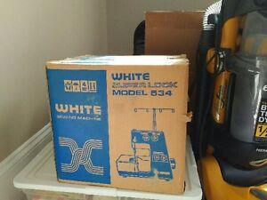 New White Sewing Machine