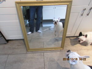 WALL MIRROR GOLD FRAME