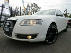 2006 Audi A6 Casablanca White Tiptronic Sedan Dandenong Greater Dandenong Preview