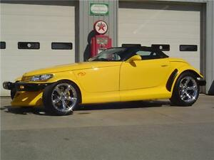 2002 Chrysler Prowler Convertible Roadster w/ ONLY 43,300 KM's