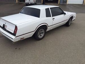 1986 Monte Carlo SS with 108000 Miles (172800 kms)