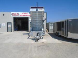 HOT DIPPED GALVANIZED 16' DUMP TRAILER BY N&N  CANADIAN MADE - London Ontario image 4