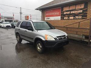 2002 Honda CR-V LX***MANUAL***AS IS SPECIAL****NEW BRAKES