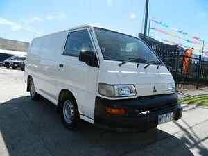 2005 Mitsubishi Express SJ M05 SWB White 5 Speed Manual Van Williamstown North Hobsons Bay Area Preview