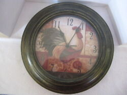 Rooster Wall Clock ~ **Gift Idea