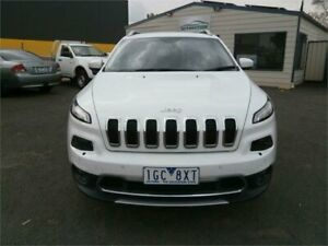 2015 Jeep Cherokee KL MY15 Limited (4x4) White 9 Speed Automatic Wagon Traralgon Latrobe Valley Preview