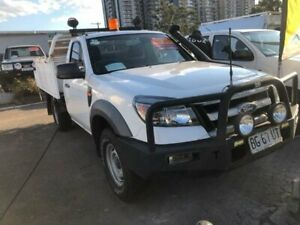 2010 Ford Ranger PK XL (4x2) White 5 Speed Manual Cab Chassis Clyde Parramatta Area Preview
