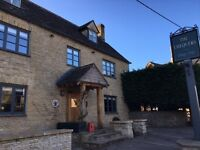Full-Time Bar Manager - CHIPPING NORTON - £23K P/A