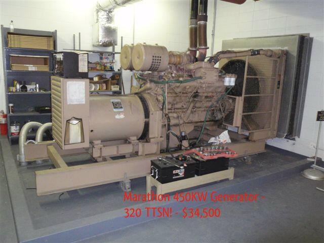 Marathon Electric 400 Kw Generator