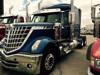 2016 International LoneStar 6x4, New Sleeper Tractor
