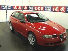 2006 Alfa Romeo 156 JTS Selespeed Red 5 Speed Automatic Selespeed Wagon Cardiff Lake Macquarie Area Preview