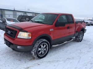 2004 Ford F-150 FX4-SUNROOF-LEATHER-LOADED-ALLOYS