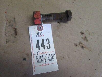 Allis Chalmers C -rim Clamp Nut And Bolt-eccentric Item 443