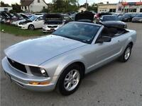 2007 Ford Mustang Convertible 4.0L V6! AUX Input!