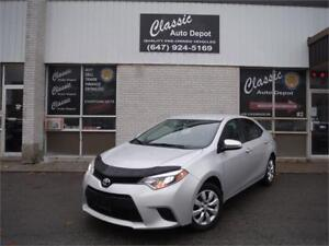 2014 Toyota Corolla LE**CERTIFIED**BACK UP CAM**WE FINANCE**