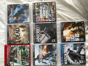 8 PS3 Games for Sale