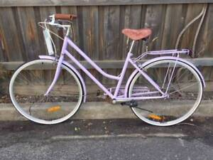 Single speed Reid womens town bike