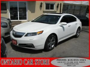 2013 Acura TL SH-AWD TECH PKG. NAVIGATION LEATHER SUNROOF