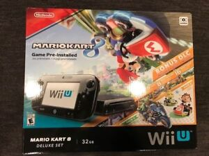Wii U Mario Kart 8 Edition - 32GB Deluxe with 3 games