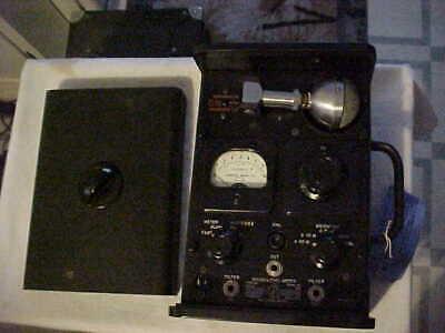 Nos General Radio Sound Level Meter Type 1551-a Shure Bros Microphone