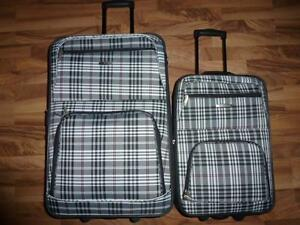 2-piece Rockland Softside Lightweight Luggage On Wheels
