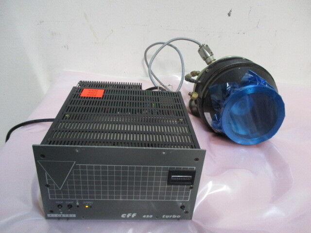 Alcatel-Annecy 5402 CP Turbo Vacuum Pump w/ CFF 450 Turbo Controller. 423014