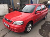 2003 Vauxhall Astra, starts and drives well, 1 years MOT (runs out April 2018), car located in Grave