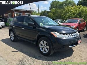 2007 Nissan Murano S CERTIFIED! AWD! ACCIDENT FREE! WARRANTY!