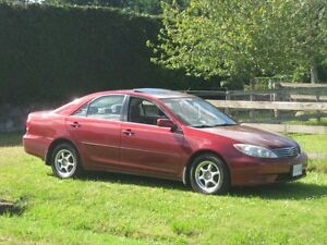 2005 Toyota Camry LE 138,900 km