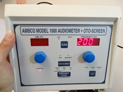Ambco - Model 1000 Audiometer